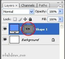 tutorial photoshop shape tools 7